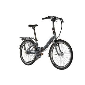 """tern Castro P7i Bicicletta pieghevole 24"""" grigio"""